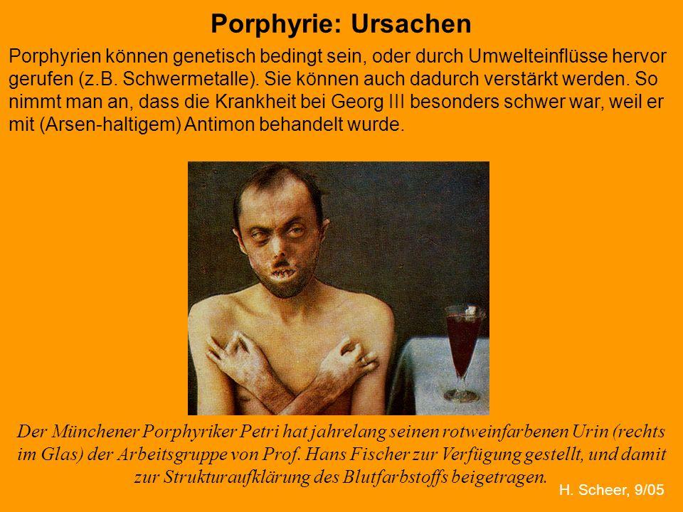 Porphyrie: Ursachen