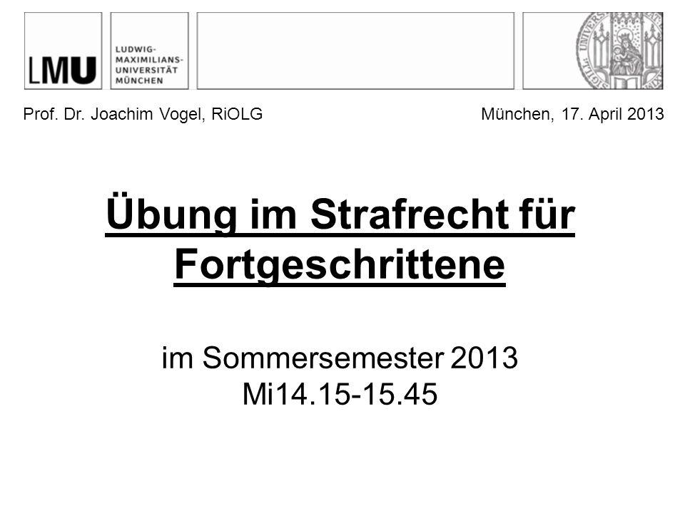 Prof. Dr. Joachim Vogel, RiOLG