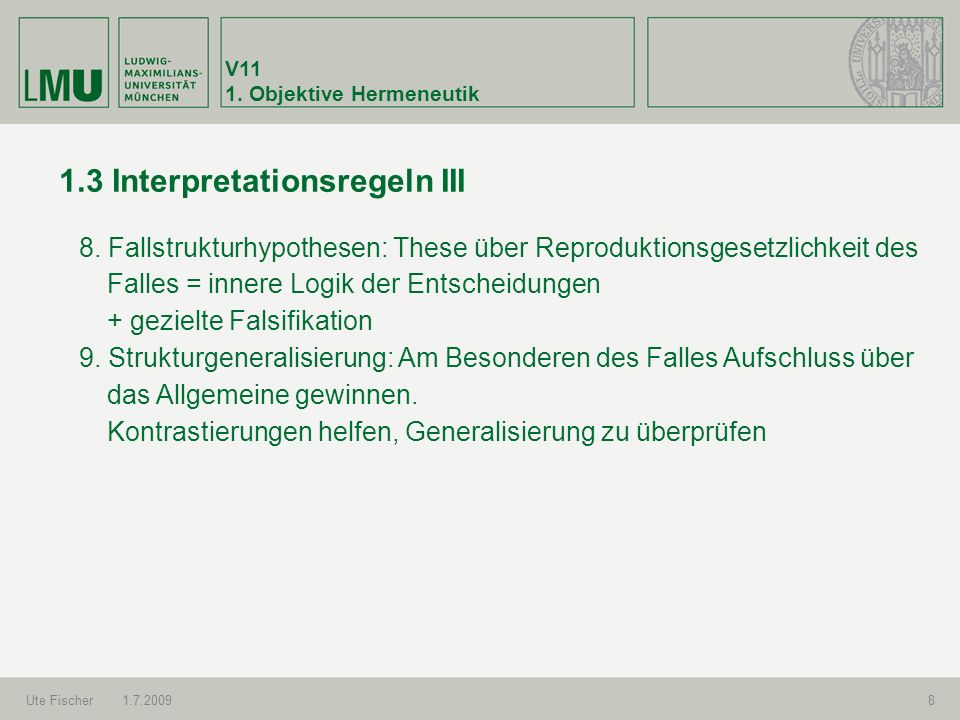 1.3 Interpretationsregeln III