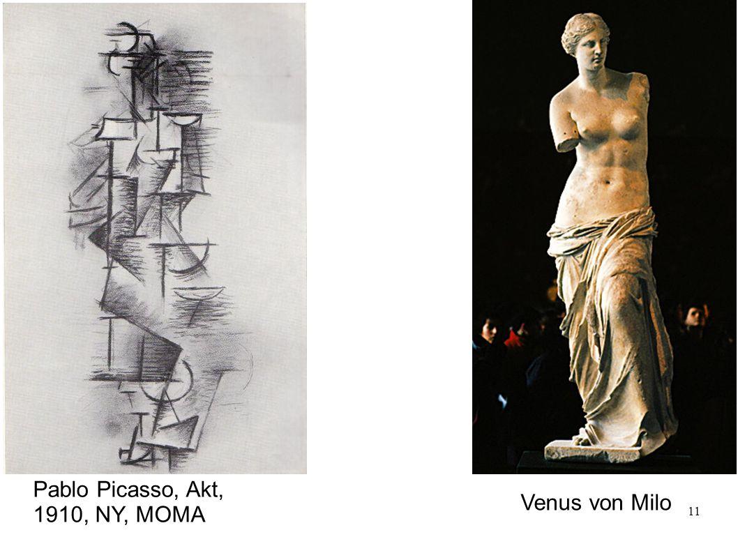 Pablo Picasso, Akt, 1910, NY, MOMA