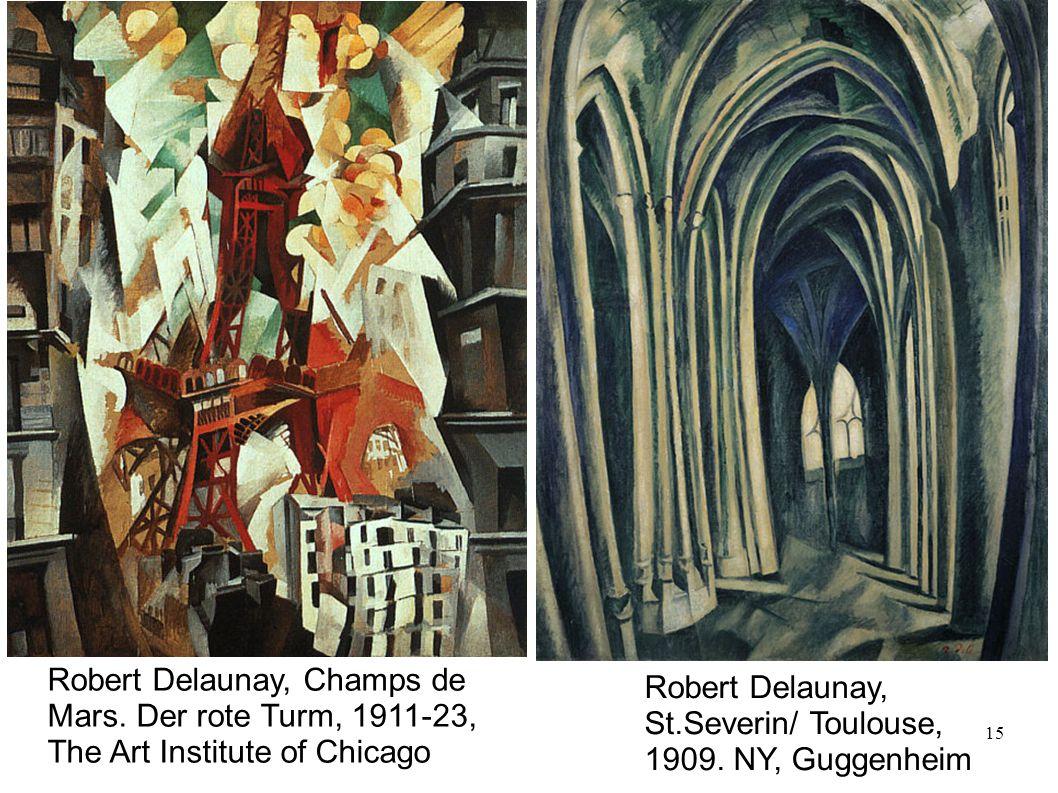 Robert Delaunay, Champs de Mars