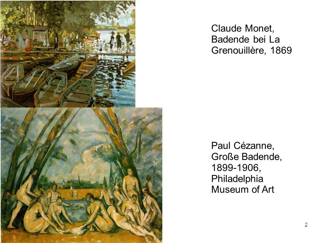 Claude Monet, Badende bei La Grenouillère, 1869