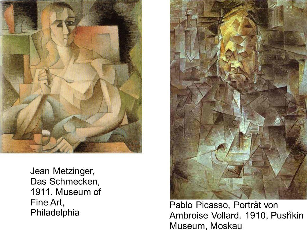 Jean Metzinger, Das Schmecken, 1911, Museum of Fine Art, Philadelphia