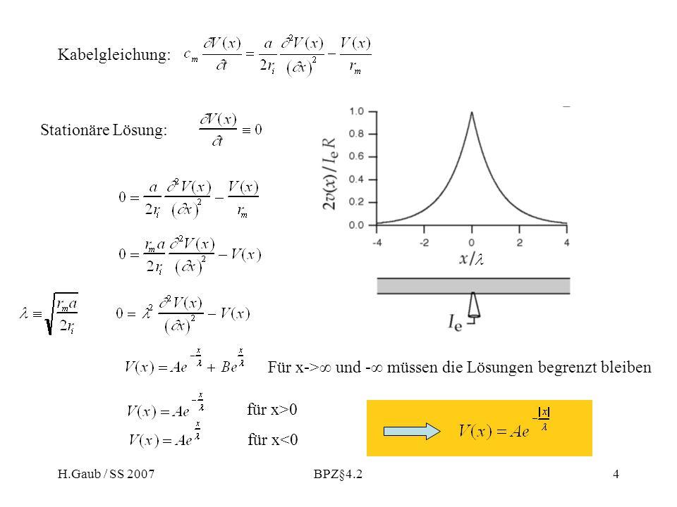 Für x->∞ und -∞ müssen die Lösungen begrenzt bleiben