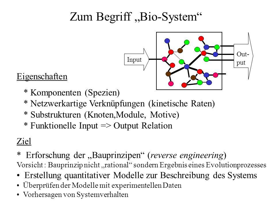 """Zum Begriff """"Bio-System"""