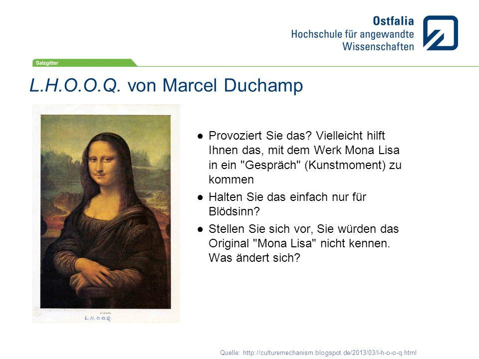 L.H.O.O.Q. von Marcel Duchamp