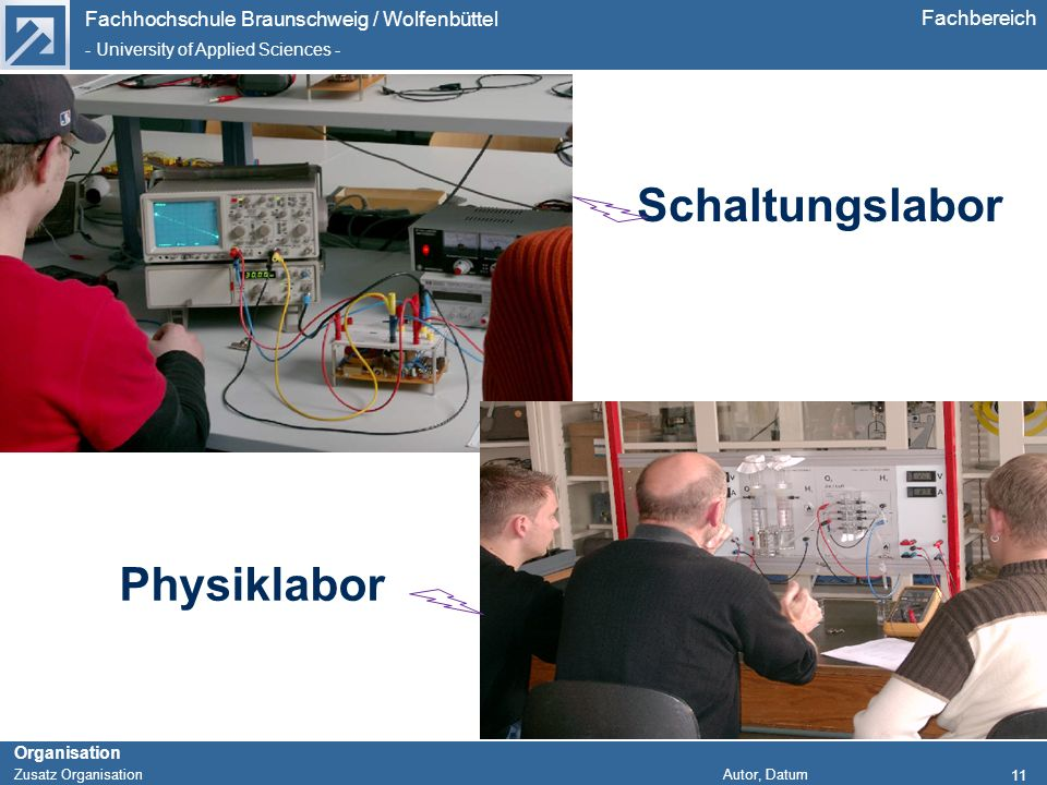 Schaltungslabor Physiklabor