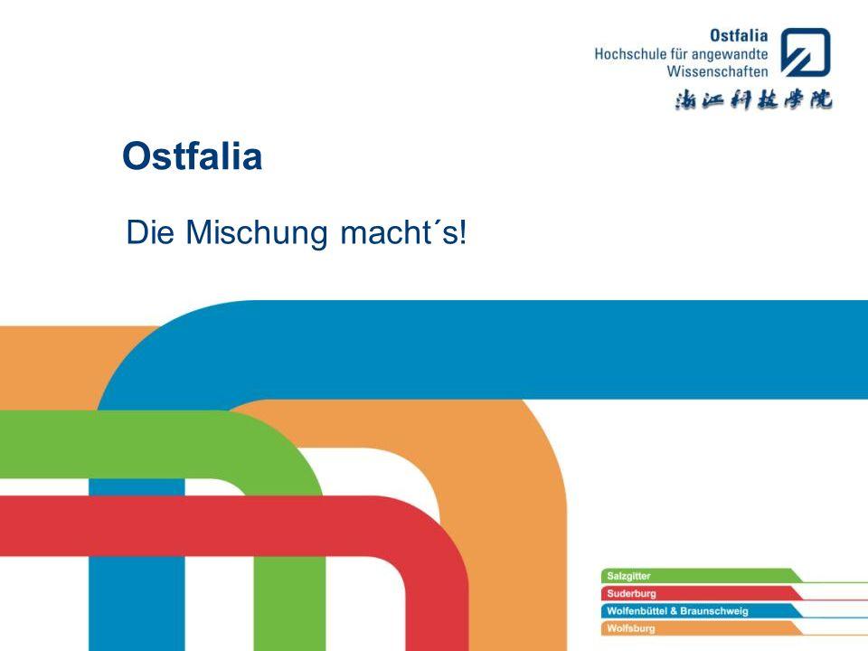 Ostfalia Die Mischung macht´s!