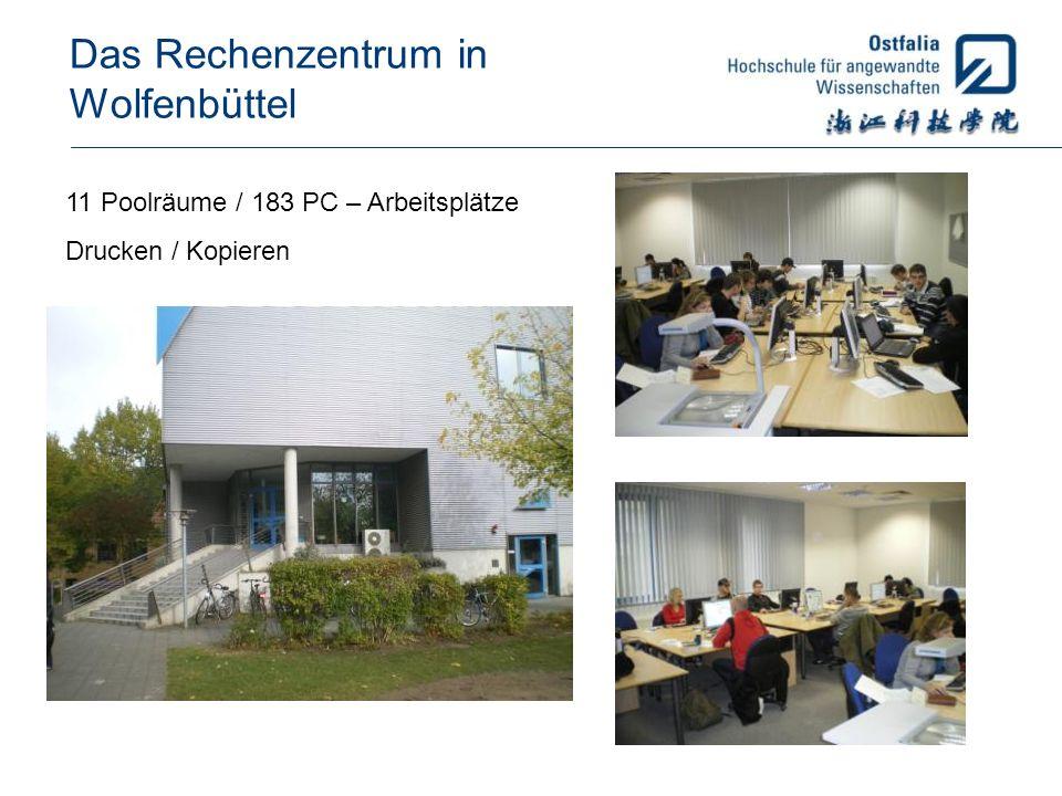 Das Rechenzentrum in Wolfenbüttel