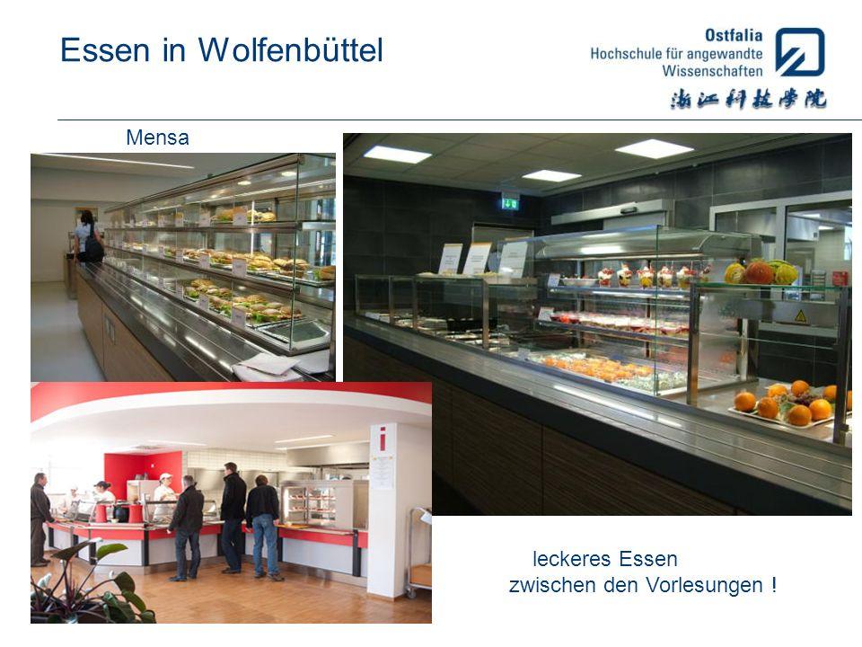 Essen in Wolfenbüttel Mensa leckeres Essen zwischen den Vorlesungen !