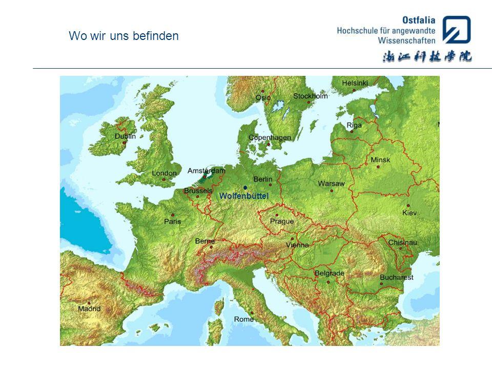 Wo wir uns befinden Wolfenbüttel