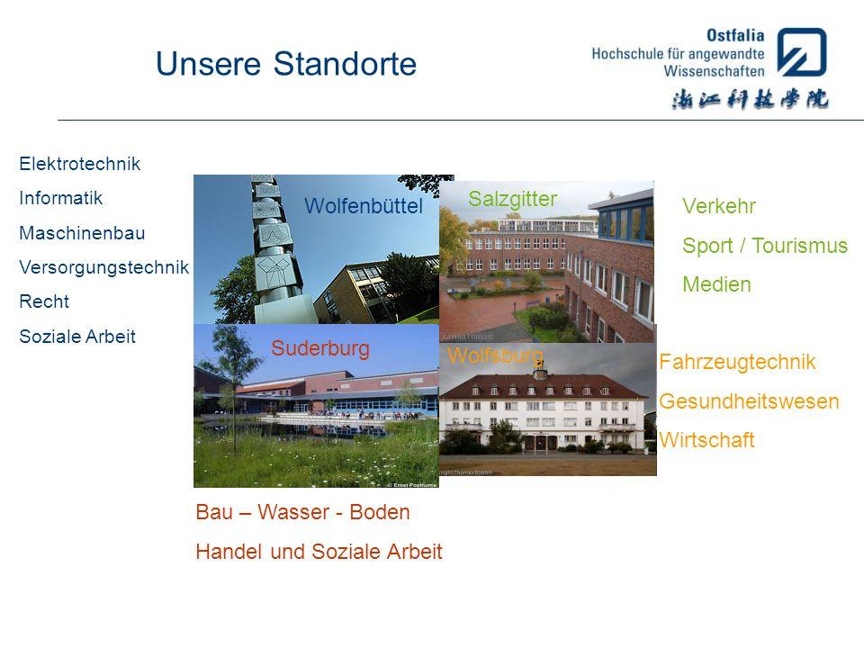 Unsere Standorte Salzgitter Wolfenbüttel Verkehr Sport / Tourismus