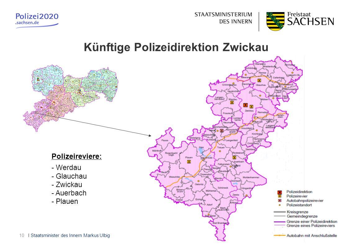 Künftige Polizeidirektion Zwickau
