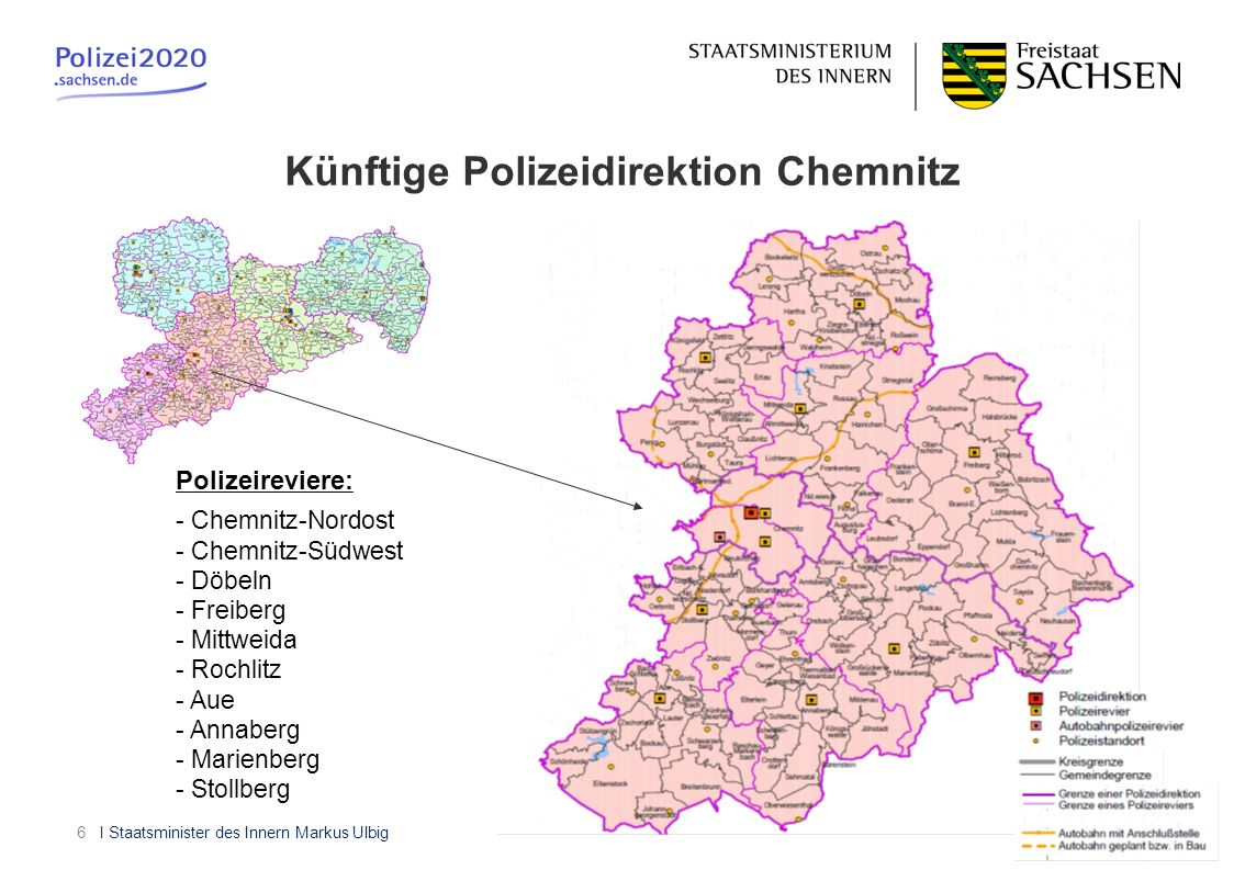 Künftige Polizeidirektion Chemnitz