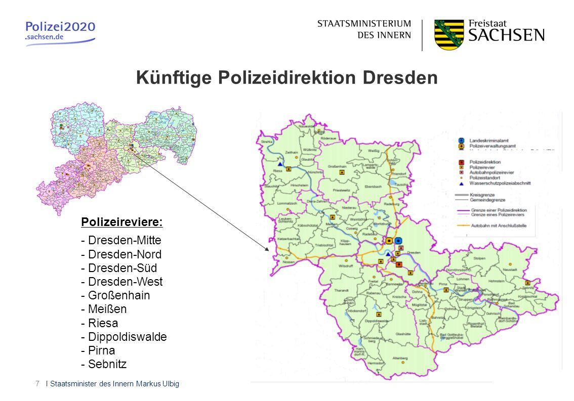Künftige Polizeidirektion Dresden