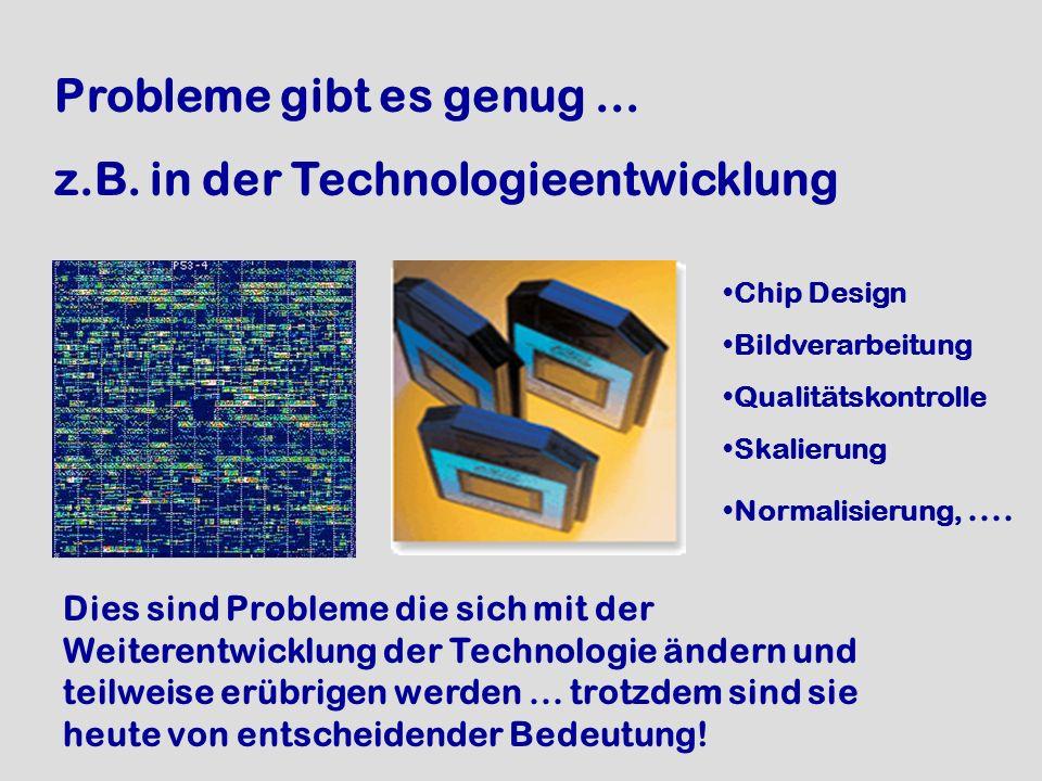z.B. in der Technologieentwicklung