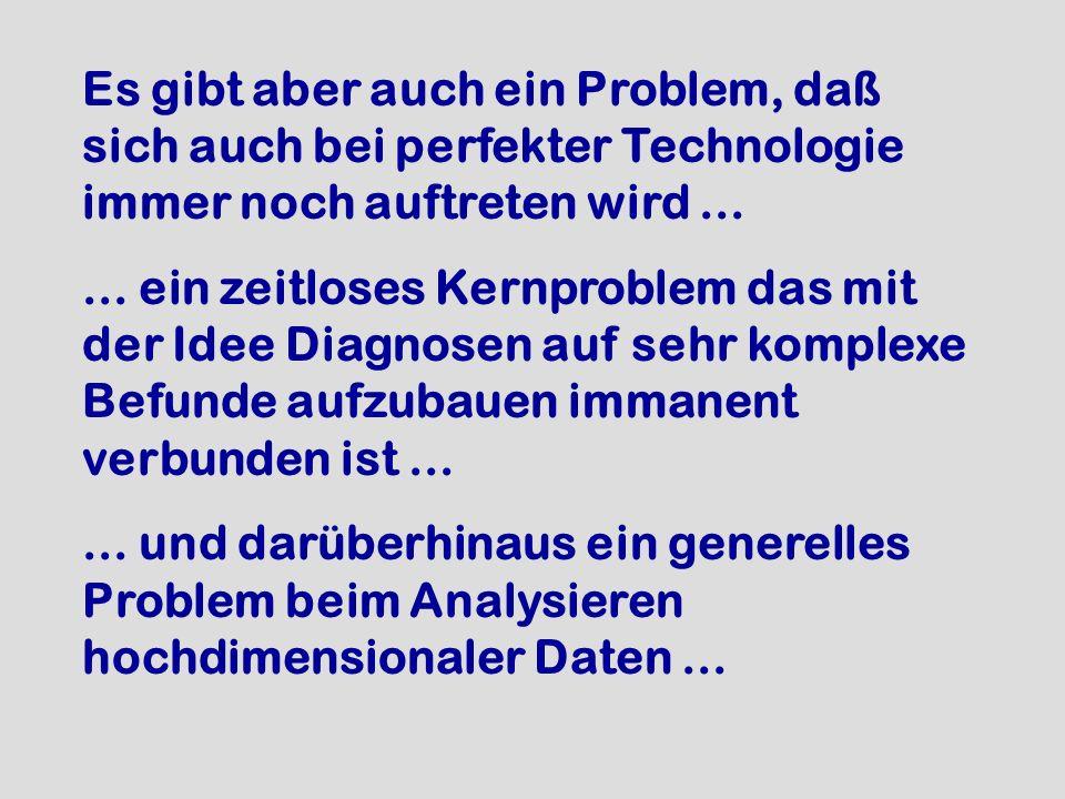 Es gibt aber auch ein Problem, daß sich auch bei perfekter Technologie immer noch auftreten wird ...