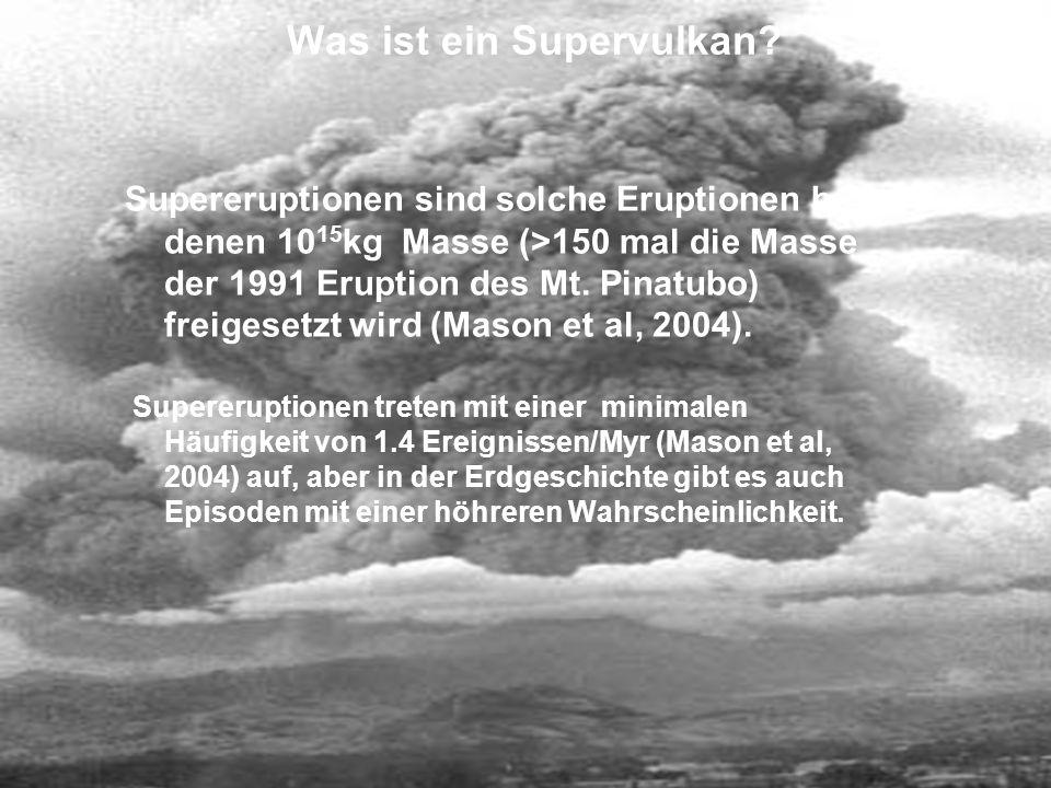 Was ist ein Supervulkan