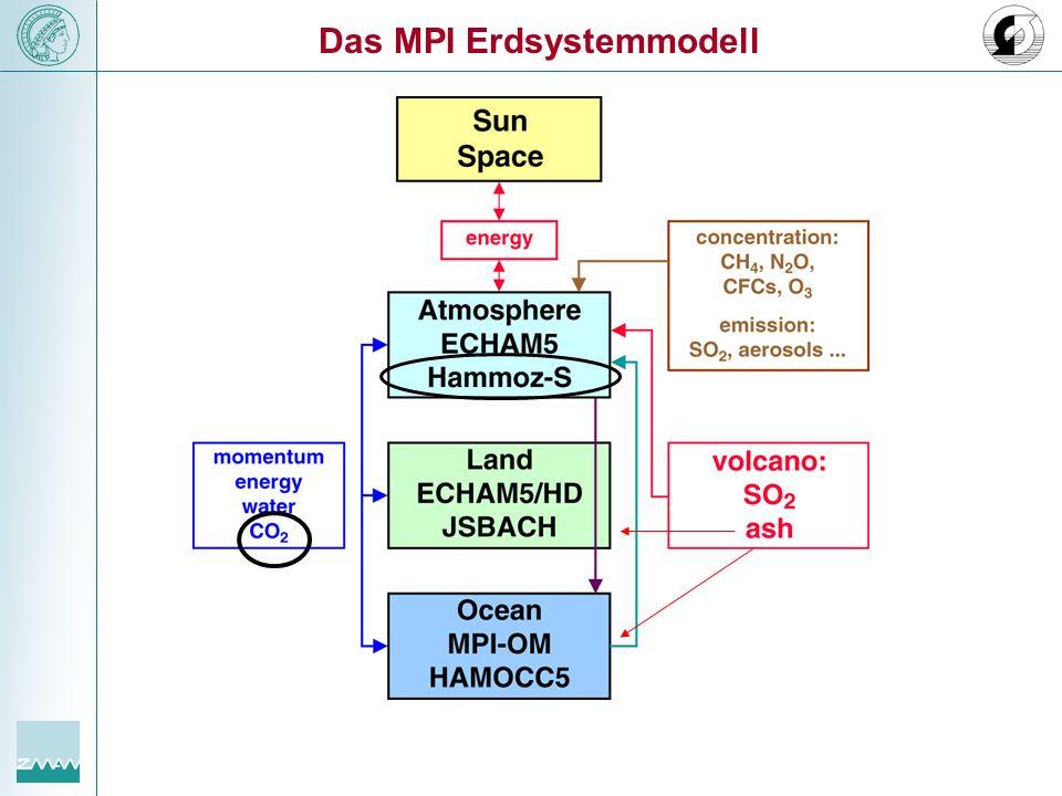 Das MPI Erdsystemmodell