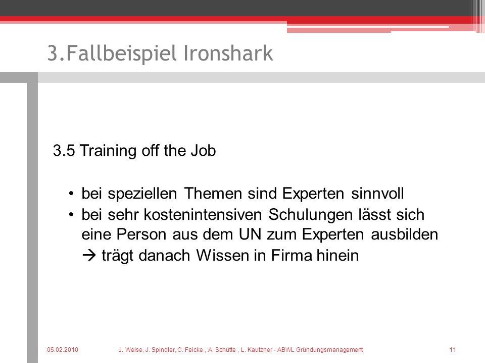 3.Fallbeispiel Ironshark