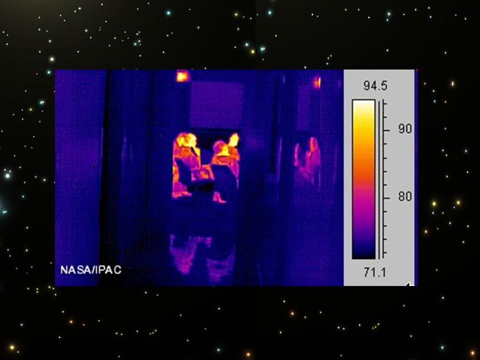 Infrarotlicht breitet sich genauso wie sichtbares Licht aus, z. B