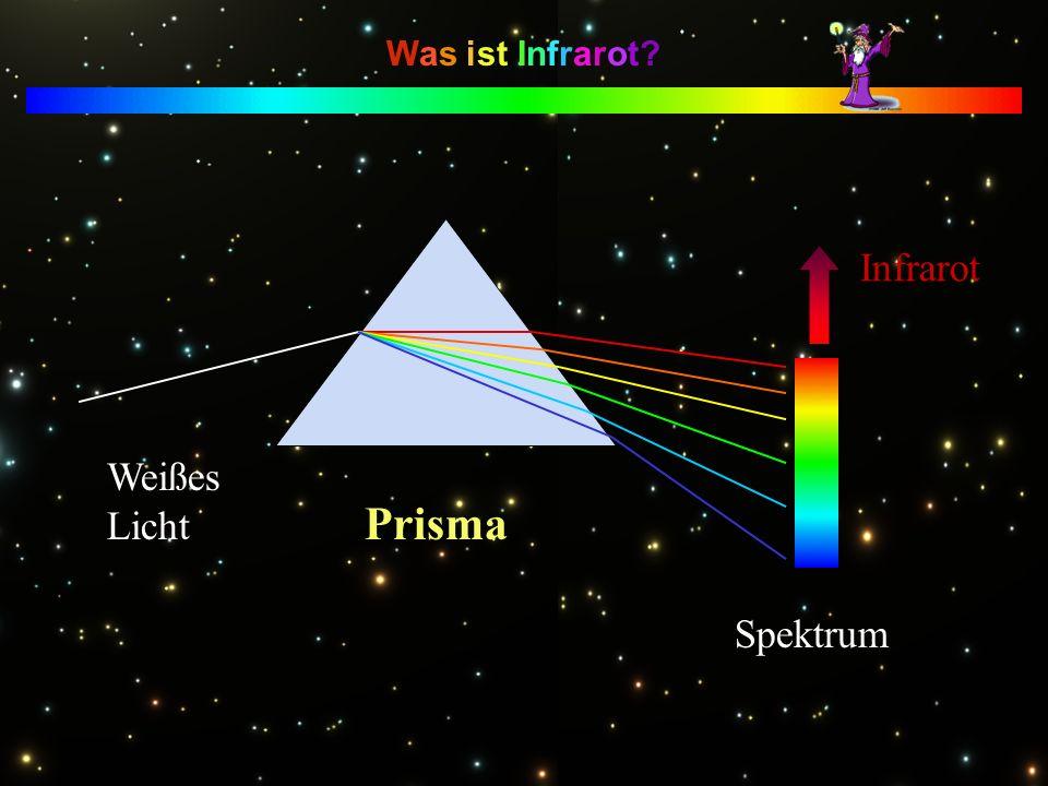 Prisma Infrarot Weißes Licht Spektrum Was ist Infrarot
