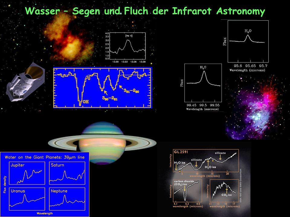 Wasser – Segen und Fluch der Infrarot Astronomy