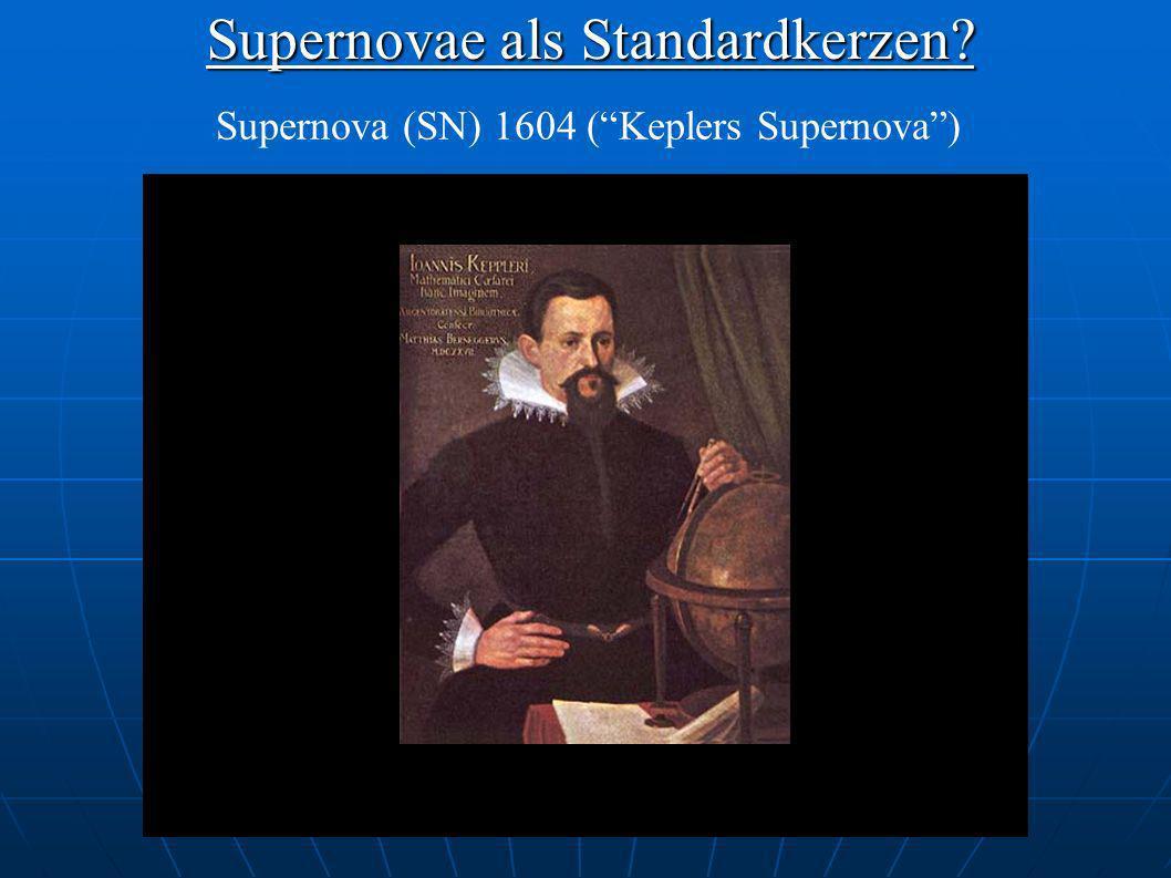 Supernovae als Standardkerzen