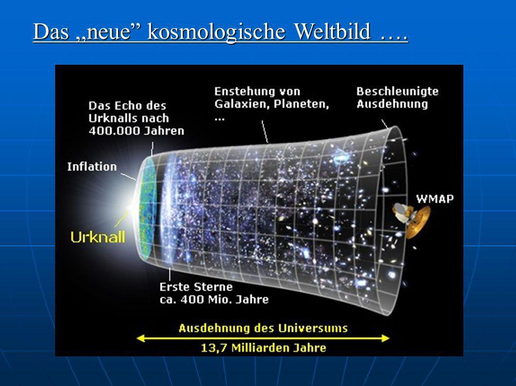Das ,,neue kosmologische Weltbild ….