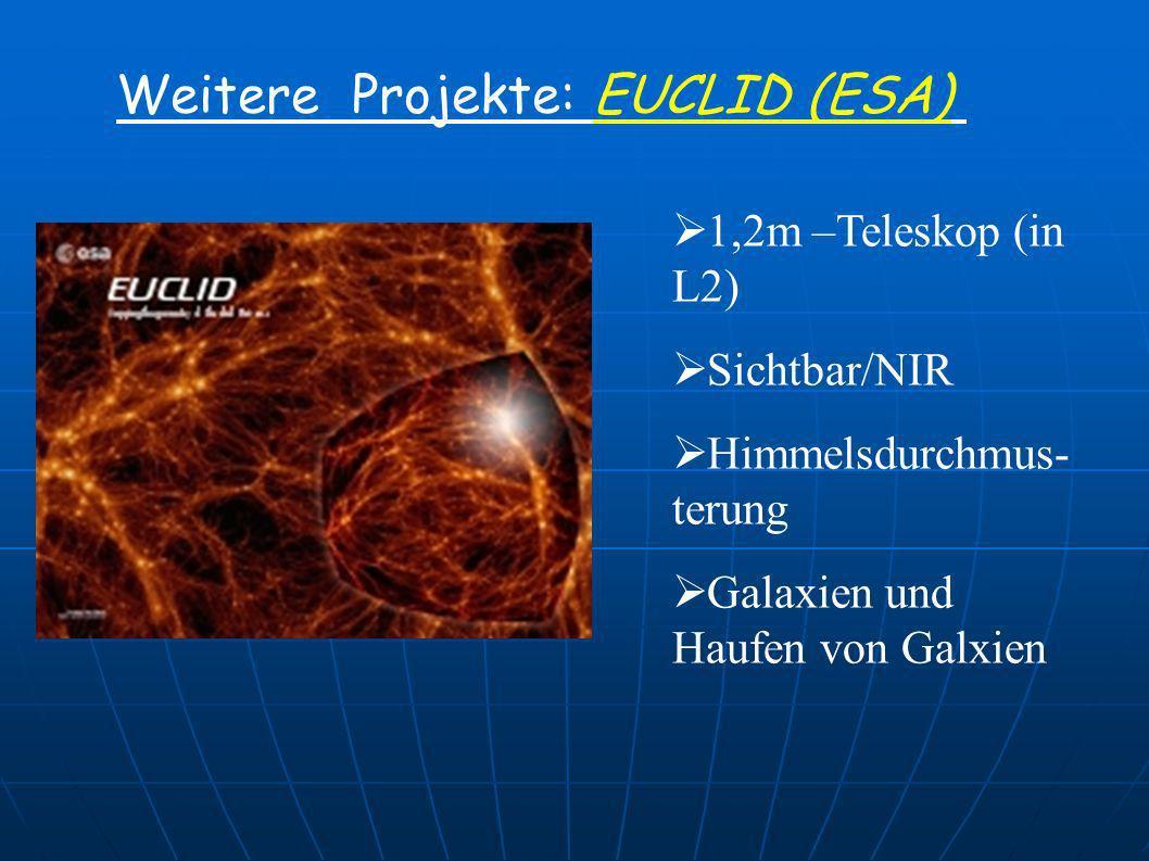 Weitere Projekte: EUCLID (ESA)
