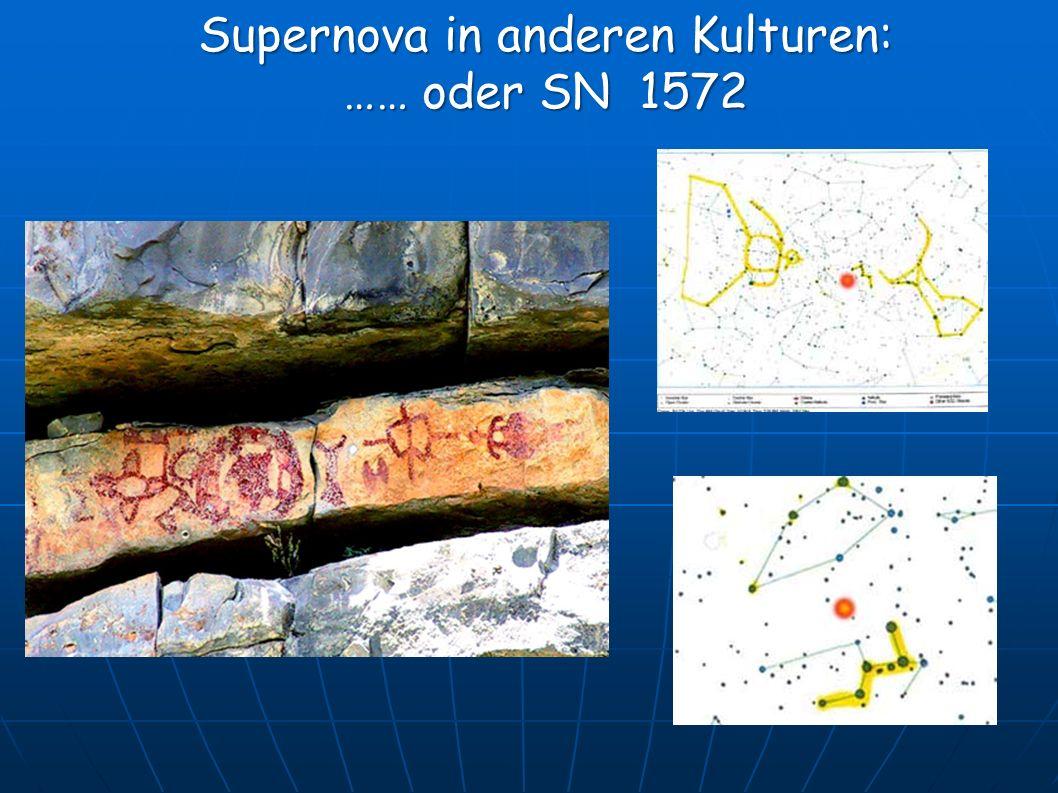 Supernova in anderen Kulturen: