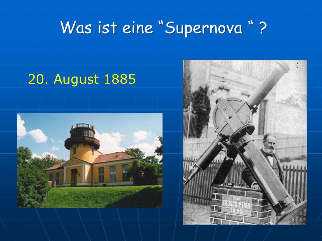 Was ist eine Supernova