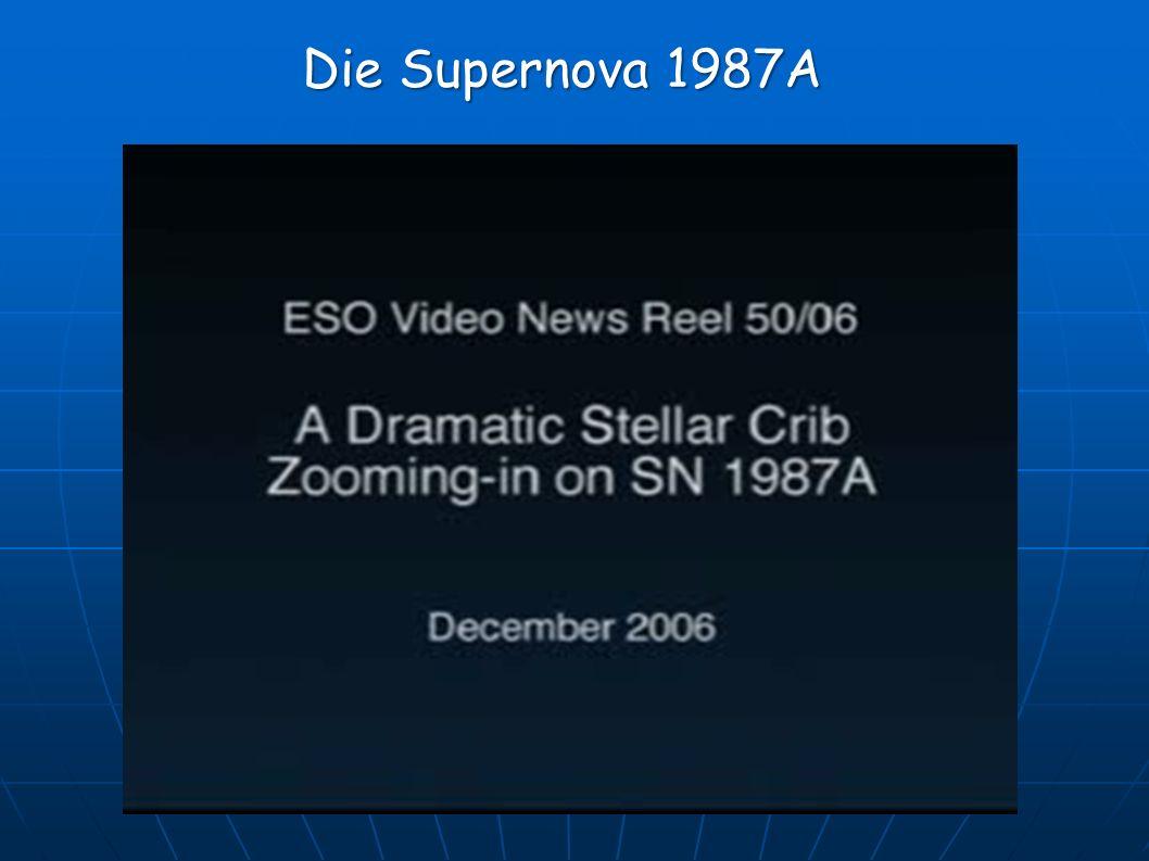 Die Supernova 1987A
