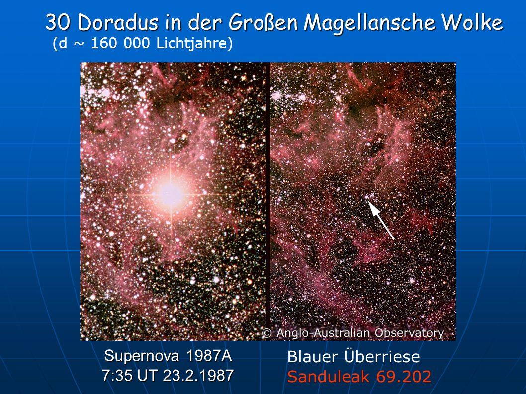 30 Doradus in der Großen Magellansche Wolke
