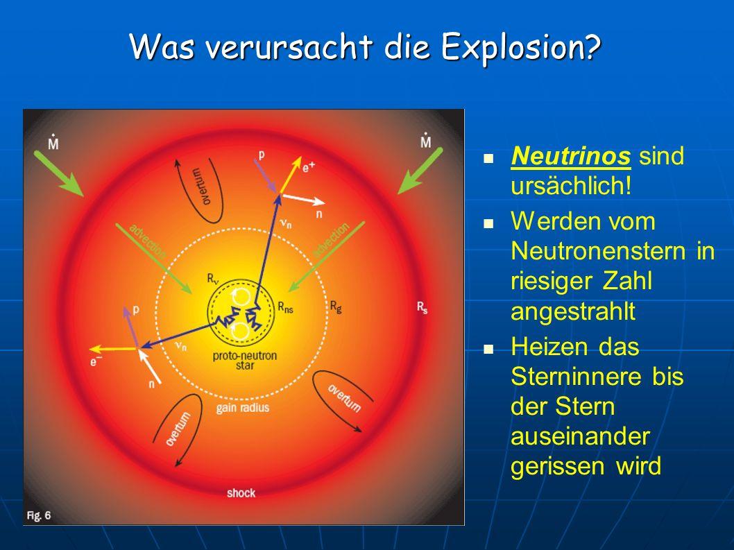 Was verursacht die Explosion