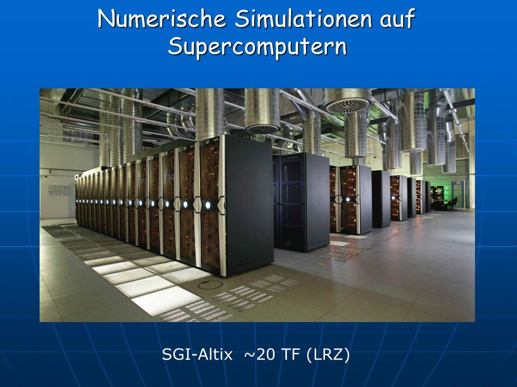 Numerische Simulationen auf Supercomputern