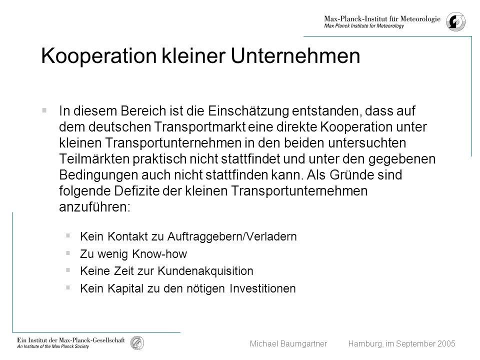 Kooperation kleiner Unternehmen