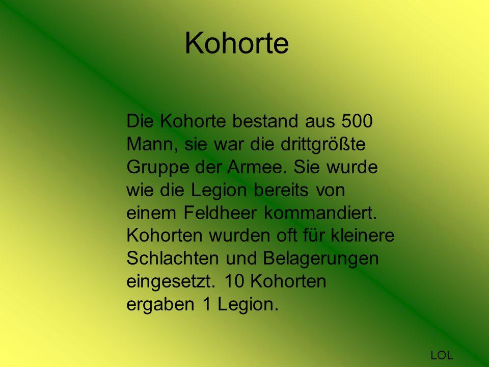 Kohorte