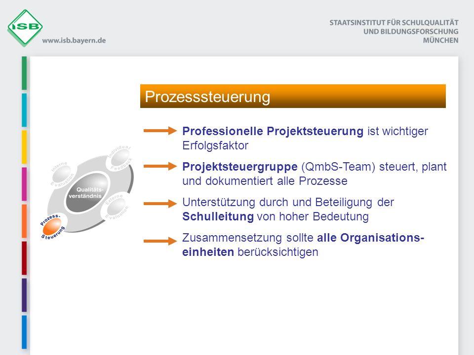 Prozesssteuerung Professionelle Projektsteuerung ist wichtiger Erfolgsfaktor.