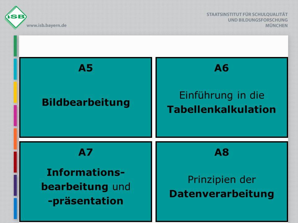 A6 Einführung in die Tabellenkalkulation