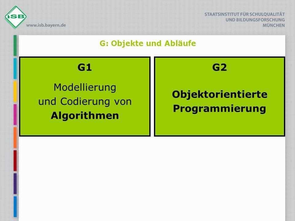 G1 Modellierung und Codierung von Algorithmen