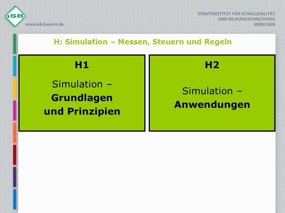 H: Simulation – Messen, Steuern und Regeln