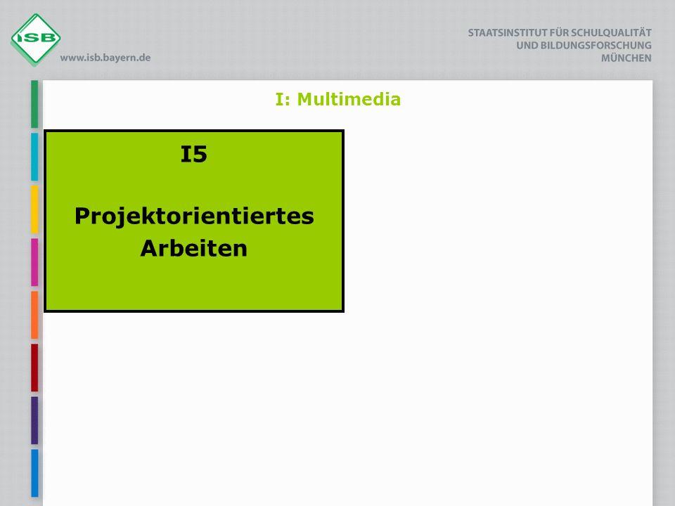 I5 Projektorientiertes Arbeiten