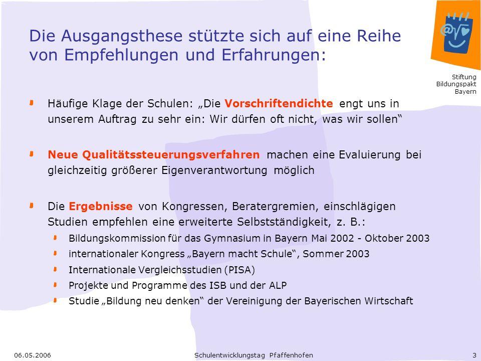 Schulentwicklungstag Pfaffenhofen