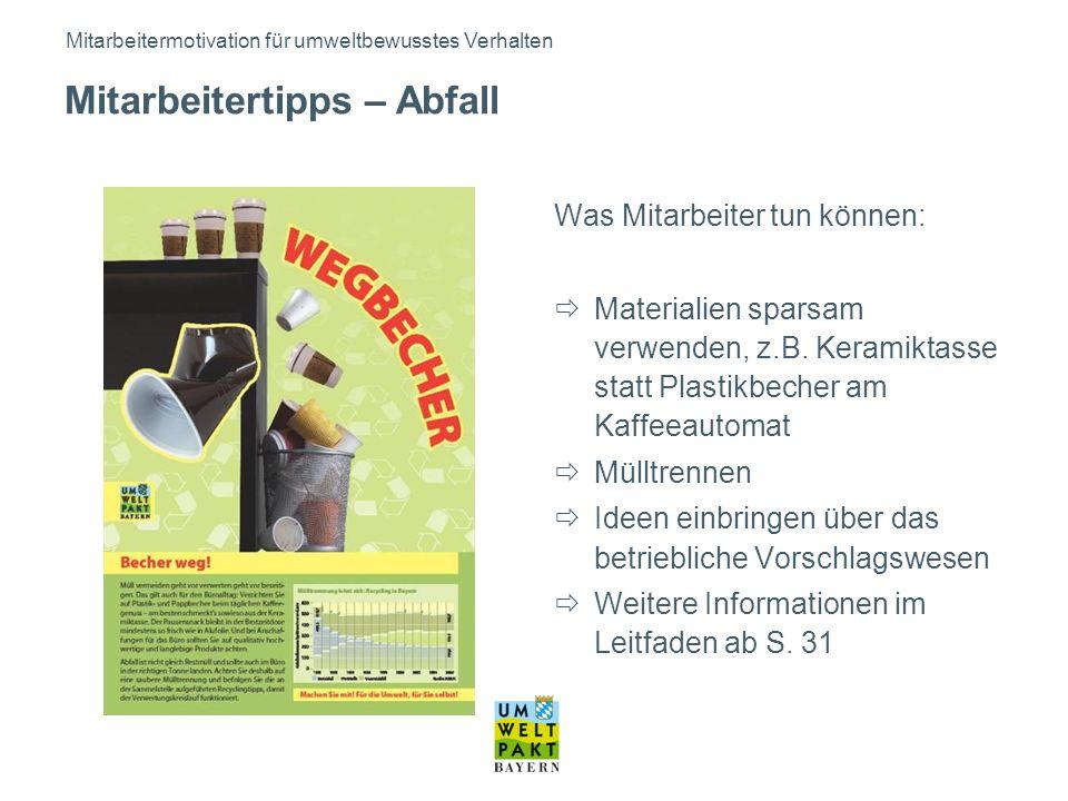 Bayerisches Landesamt für Umwelt, Infozentrum UmweltWirtschaft (IZU)