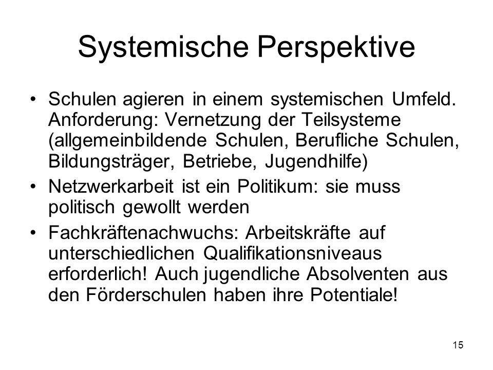 Systemische Perspektive