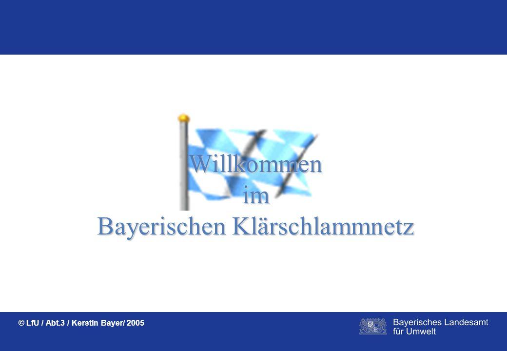 Bayerischen Klärschlammnetz