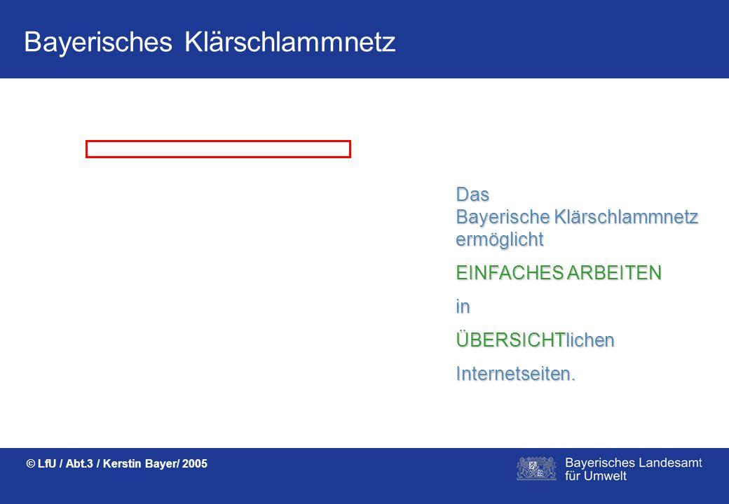Das Bayerische Klärschlammnetz ermöglicht