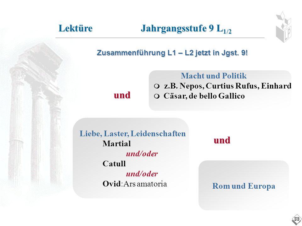 Lektüre Jahrgangsstufe 9 L1/2