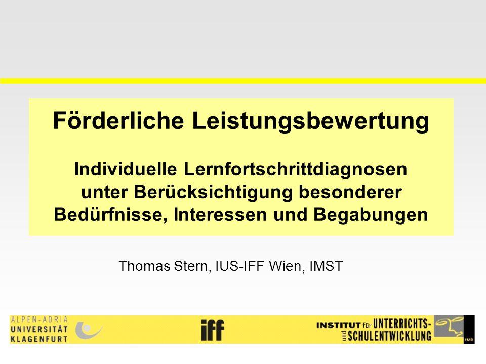 Thomas Stern, IUS-IFF Wien, IMST